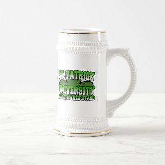 St. Patrick Varsity Keg Stand Mug