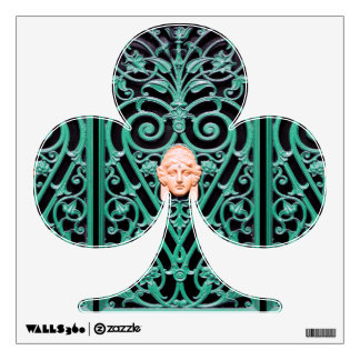 St Patrick Wall Decals - Decorative Wrought Iron