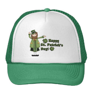 St Patrick Wishes You A Happy St Pats Day Hats