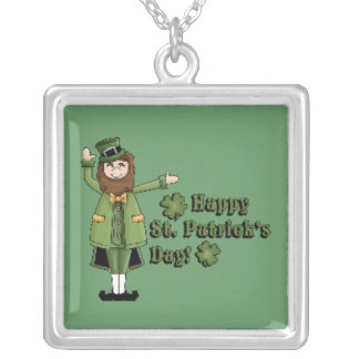 St Patrick Wishes You A Happy St Pats Day Necklaces
