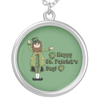 St Patrick Wishes You A Happy St Pats Day Custom Jewelry