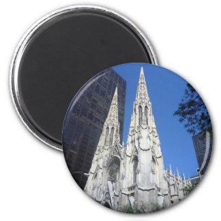 st patricks 2 inch round magnet