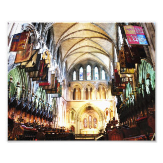 St Patricks Altar, Dublin Photo Print