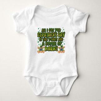 St. Patrick's Baby Baby Bodysuit