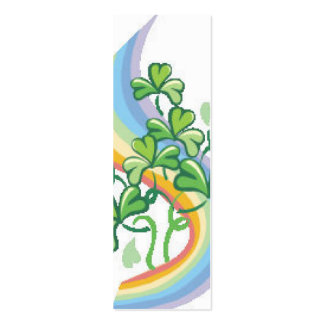 ST Patricks Bookmark Business Card Template