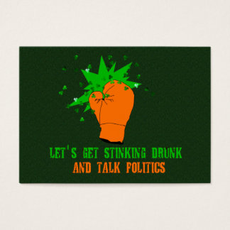 St. Patrick's Boxing Day Business Card