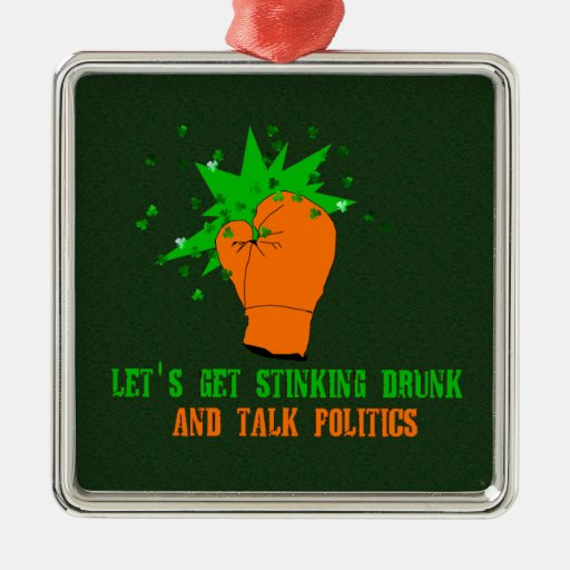 St. Patrick's Boxing Day Christmas Ornament