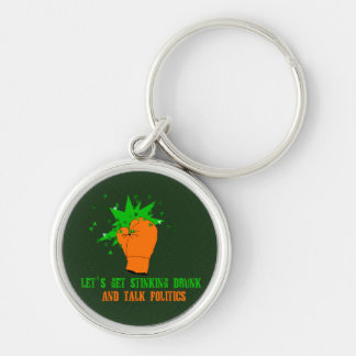 St. Patrick's Boxing Day Keychain