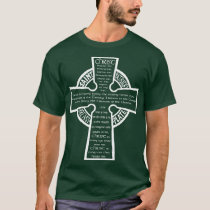 St. Patrick's Breastplate T-shirt (wh)