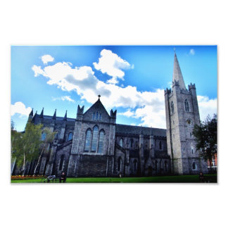 St Patrick's Cathedral, Dublin Photo Print