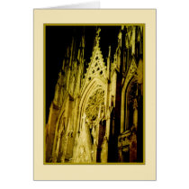 St. Patrick's Cathedral Holiday Card - Christmas