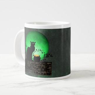St. Patrick's Chat Noir Large Coffee Mug