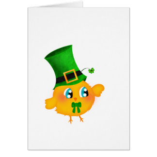 St-Patrick's Chick Card