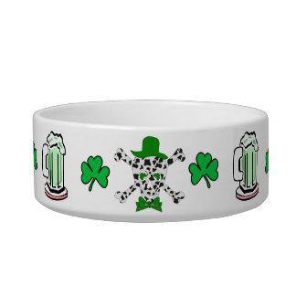St. Patrick's Cow Skull Bowl