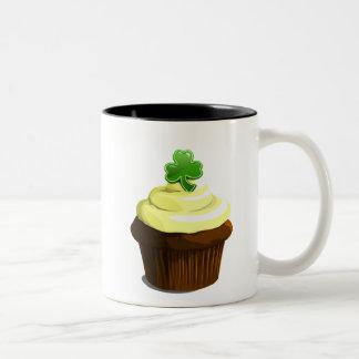 St. Patrick's cupcake mug