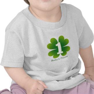 St. Patricks Day 1st Birthday Tee Shirts