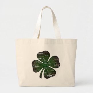 St Patrick's Day 2010 Large Tote Bag