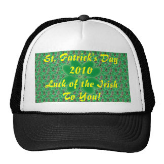 St. Patrick's Day 2010 Trucker Hat