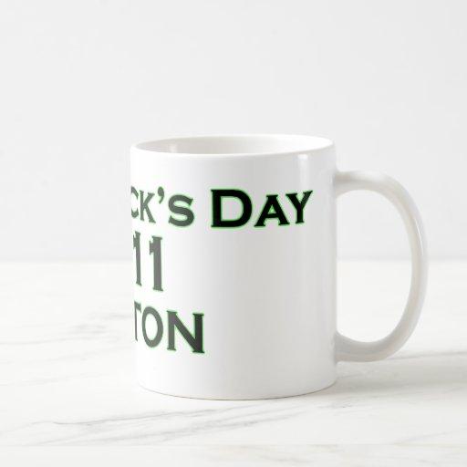 St. Patrick's Day 2011 - Boston Classic White Coffee Mug