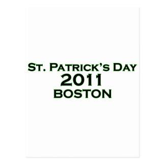 St. Patrick's Day 2011 - Boston Postcard