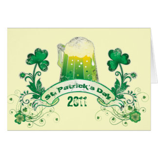 St. Patrick's Day 2011 Card
