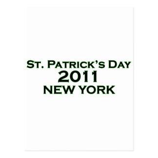 St. Patrick's Day 2011 - New York Postcard