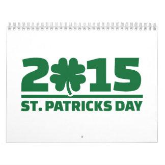 St. Patrick's day 2015 Calendars