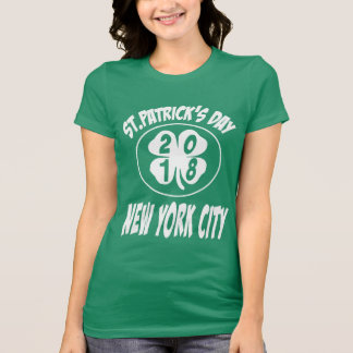 St.Patrick's Day 2018 New York City T-Shirt