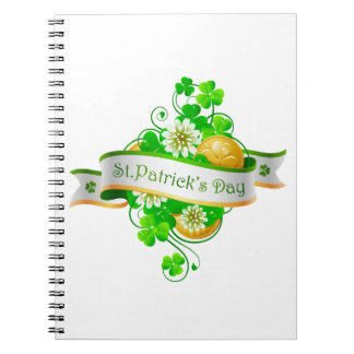 St. Patrick's Day 20 Notebook