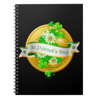 St. Patrick's Day 22 Notebook