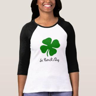 St Patrick's Day - 3/4 sleeved Raglan Top