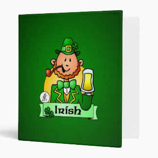 St. Patrick's Day 3 Ring Binder