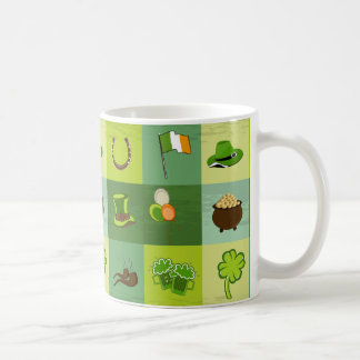 St. Patrick's Day Accessories Classic White Coffee Mug