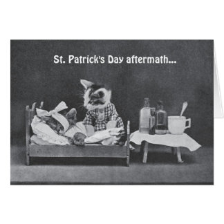 St. Patrick's Day Aftermath Greeting Card