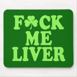 St Patrick's Day Alcohol Drinking Mouse Pad