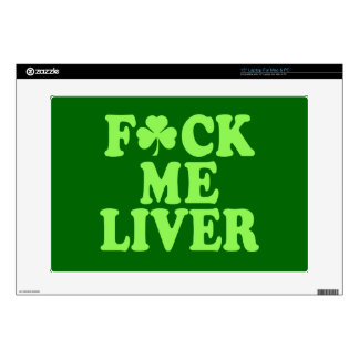 St Patrick's Day Alcohol Drinking Skin For Laptop