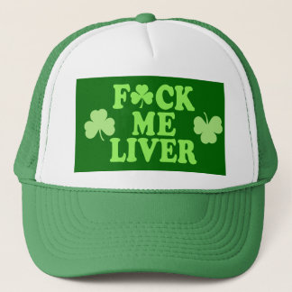 St Patrick's Day Alcohol Drinking Trucker Hat