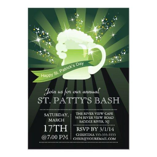 St. Patrick's Day Potluck Invitation