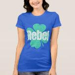 St Patrick's Day Anti-Green Rebel Tee Shirts