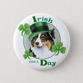 St. Patrick's Day Aussie Button
