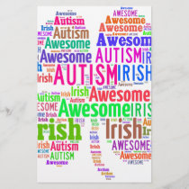 St. Patrick's Day Autism Awareness Products