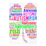 St. Patrick's Day Autism Awareness Products Stationery