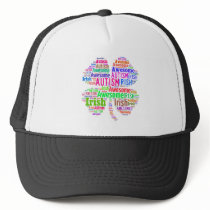 St. Patrick's Day Autism Awareness Products Trucker Hat