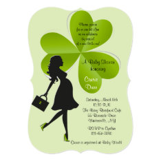 St. Patrick's Day Baby Shower Invitation at Zazzle