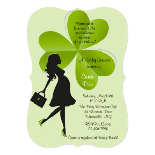 df7e64d77 St. Patrick's Day Baby Shower Invitation