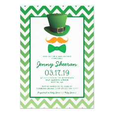 St Patricks Day Baby Shower | Irish Invitation