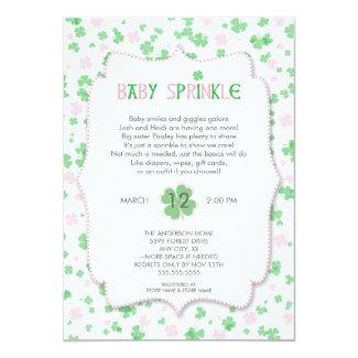 St Patrick's Day Baby Sprinkle / pink girl