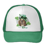 St. Patrick's Day Basset Trucker Hats