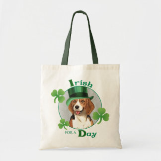 St. Patrick's Day Beagle Tote Bag