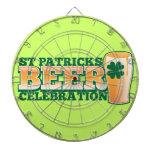 ST Patricks Day BEER Celebration Dart Boards